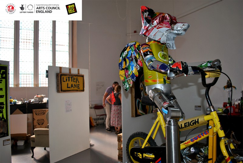 LitterARTI - Art for awareness and education about rubbish and sustainability