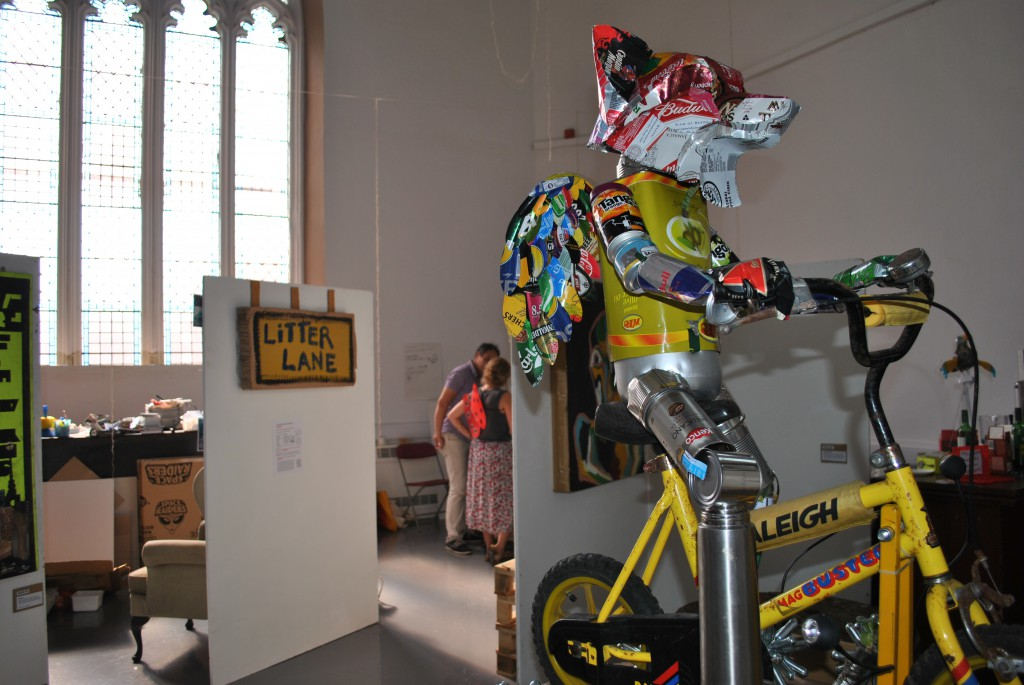 Aluminium Fox - Jethro Brice - a WasteofSpace, Litterarti