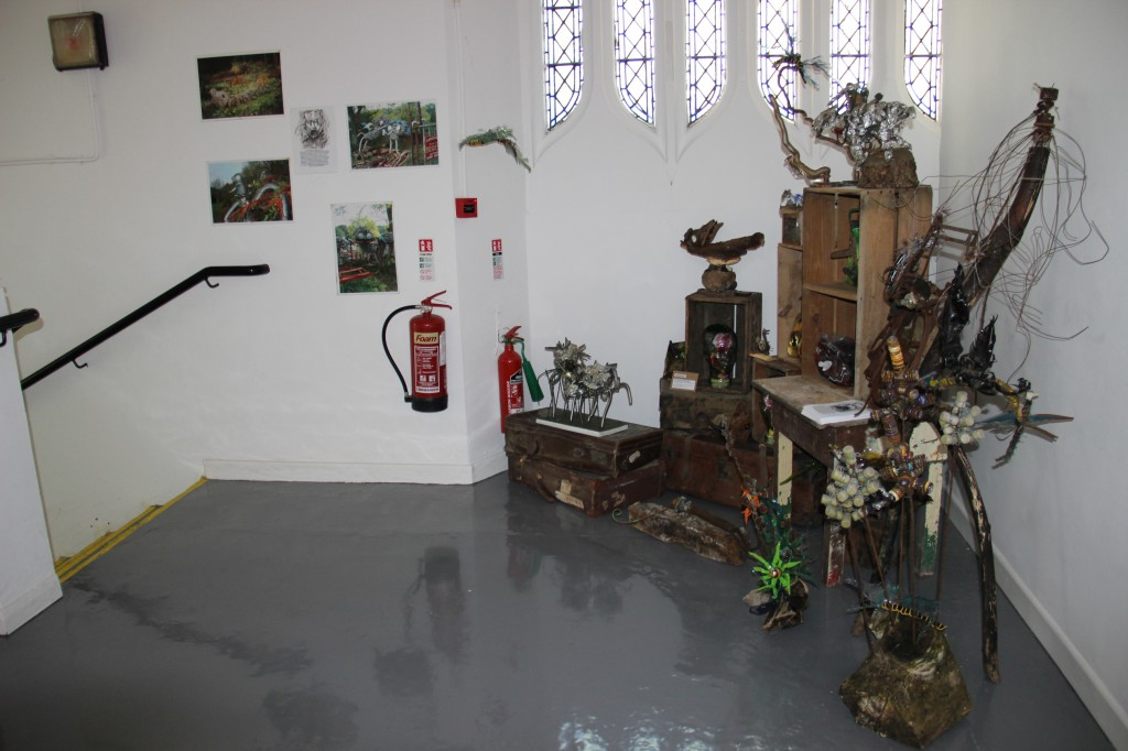 Exhibition from the Scraptors