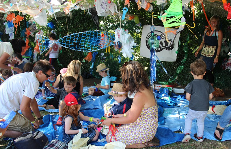 Litterarti creative fun family workshops at festivals