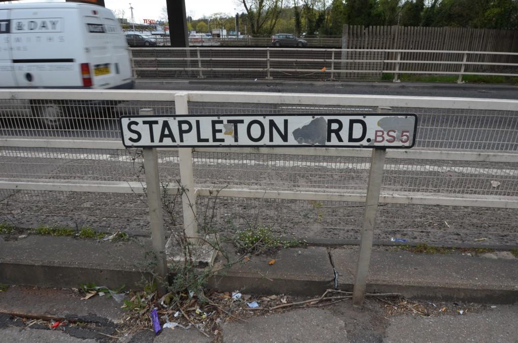 M£2 Underpass. Stapleton Road. BS5.Eastville. Bristol. England.
