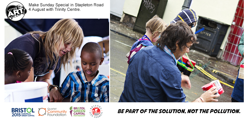 Make-Sunday-Special Stapleton Road, August 2015 with Trinity Centre