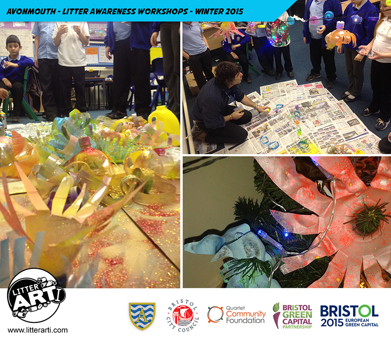 Litter Awareness Workshops With Avonmouth Primary