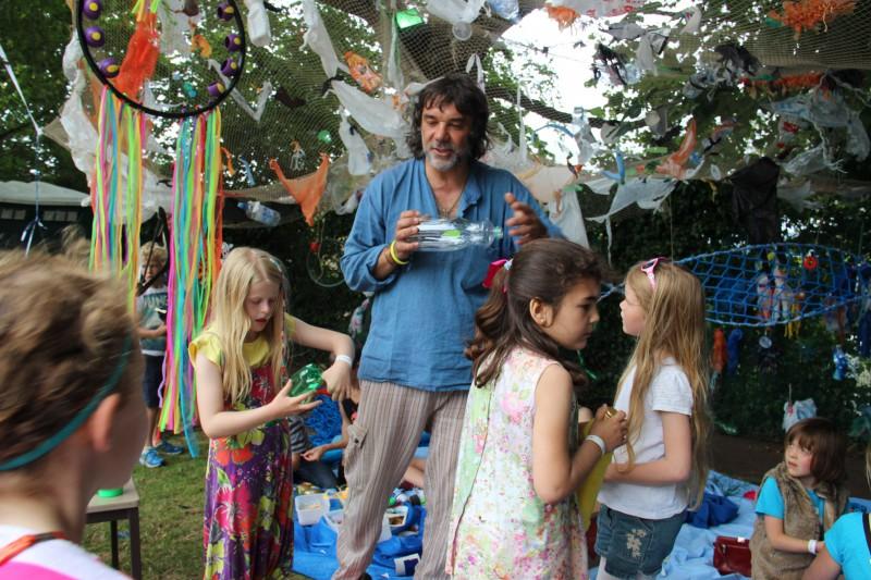 LitterARTI at Backwell Festival 2015